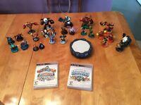 Skylanders and Skylanders Giants with Portal and Characters