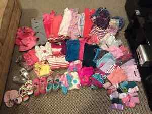 Lot de vêtements fille 4-5-6 ans