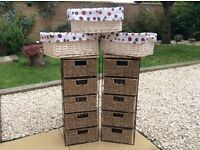 Baskets and basket drawers