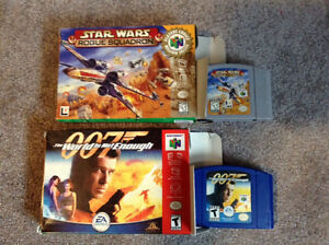 2 N64 Games for Sale