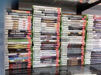 LOTS OF XBOX, XBOX 360 AND XBOX1 GAMES