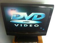 Tv 19 inch tv dvd combo