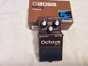 ** CLASSIC (1990) BOSS OC-2 OCTAVE PEDAL - LIKE NEW!