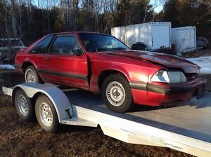 PARTING OUT 1990 MUSTANG LX HATCH 4CYL.