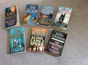 Action themed novels - all great reads