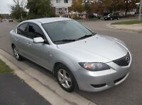 2005 Mazda Mazda3 (with saftety and E test)