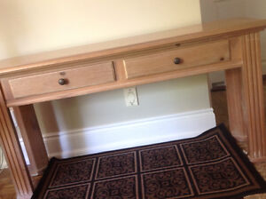 Solid Wood Hall Table, Sofa Back, Console or TV table