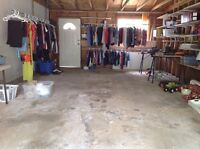 Just finished a garage sale , boys 7 clothing, FREE