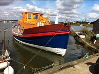 Ex rnli lifeboat. The Alfred and patience gottwald.