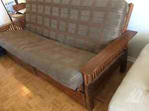 FULL SIZE SOFA BED WITH STORAGE