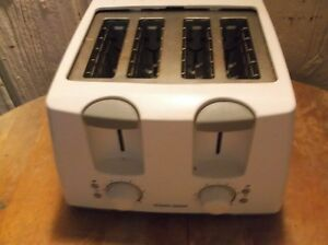 black and decker 4 slice toaster excellent working condition