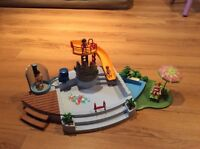 Piscine de playmobil