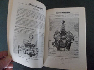 1932 1933 1934 1936 1941 Ford Mercury Lincoln Service Handbook London Ontario image 7