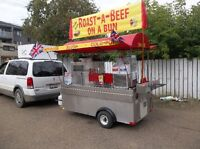 KING OF HOT-DOG CARTS AND COMMISSARY.