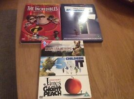 Kids DVD's (2/3 Disc Editions)