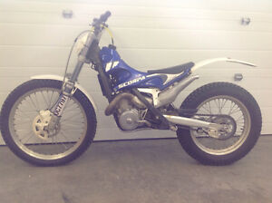 2003 Scorpa SY250 LONG RIDE Trials bike