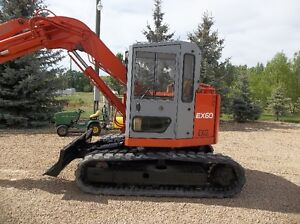 HITACHI EX 60  MIDI  EXCAVATOR RUNS GREAT