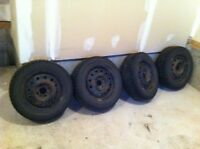 Nissan sentra rims and winters