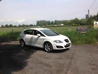 24/7 Trade sales NI Trade Prices for the public 2010 Seat Leon 1.9 TDI S Emocion White Full mot