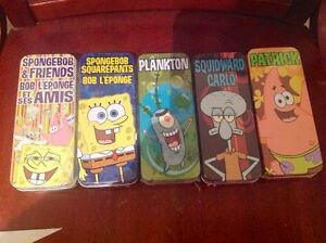 5 SpongeBob Watches. New in original packaging