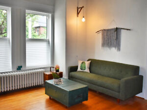 Beautiful furnished one bedroom unit in downtown Hamilton