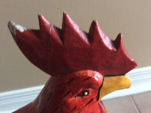 Wooden rooster Cornwall Ontario image 2