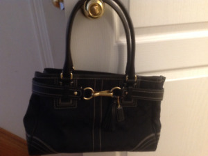 Coach Black Purse- Like New