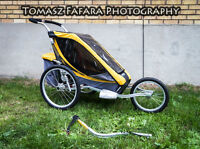 Bike Attachment Yellow Chariot Cougar Jogging Stroller