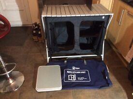 Elite folding camp kitchen unit