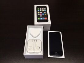 iPhone 5s 16gb unlocked space grey or white very good condition with warranty and accessories