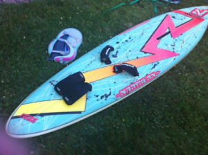 Beautiful Custom Windsurfing board and gear