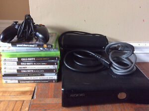 XBox 360 S 250GB OPTIONAL games too Call Of Duty Battlefield