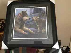 Mother wolf and cub London Ontario image 1