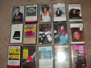 some rare, collectible cassettes/tapes