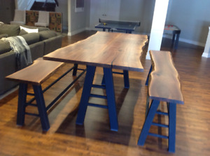 Reclaimed  Wood Harvest Tables & More