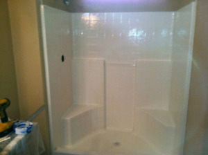 Brand new shower