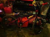 Selling Haro bmx, and parts bike