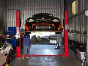 3.5ton Car Hoist 2 Post Single Phase Launch Lift NEW!!!