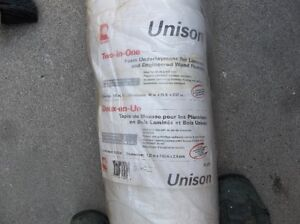 "ROLL OF UNISON 2 IN 1 FOAM UNDERLAYMENT 3/32"" THICK"