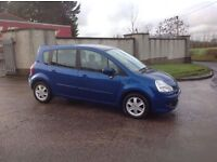 24/7 Trade sales NI Trade prices for the public 2008 Renault Grand Modus 1.2 TCE Dynamique Blue