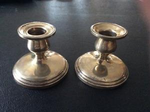 Vintage Birks Sterling Candle Holders