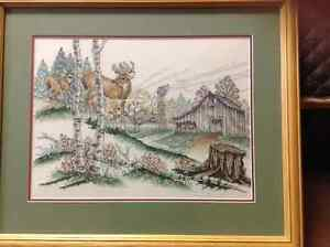 Beautiful hand stitched pictures Strathcona County Edmonton Area image 3