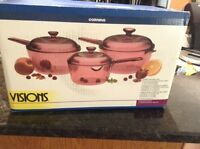 Vision Set by Corningware- Brand New