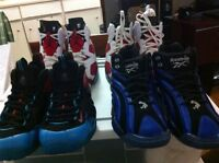 JORDANS NIKE FOAMPOSITE AND REEBOK FOR SALE OR TRADE