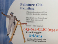 PAINTER WITH MANY YEARS OF EXPERIENCE AVAILABLE FEBRUARY