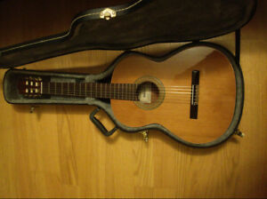 Almansa 402 Cedro Classical Guitar with Case/Accessories