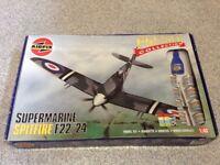 Airfix Premier Collection 1/48 Supermarine Spitfire F22/24 Model Kit for sale  Dewsbury, West Yorkshire