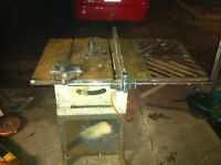 Vintage table saw for sale