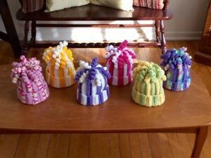 NEW - Handmade: Curly Cue Toddler Hats