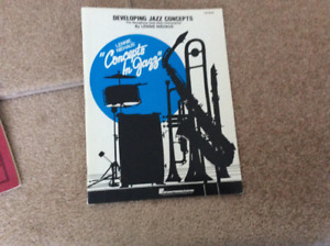 Developing Jazz Concepts for Saxophone and other instruments